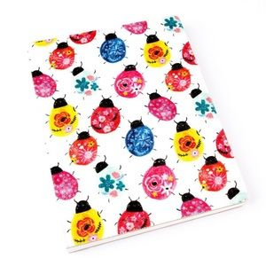 Paper Destiny Office - Paper Destiny Lively Ladybugs Fabric Journal